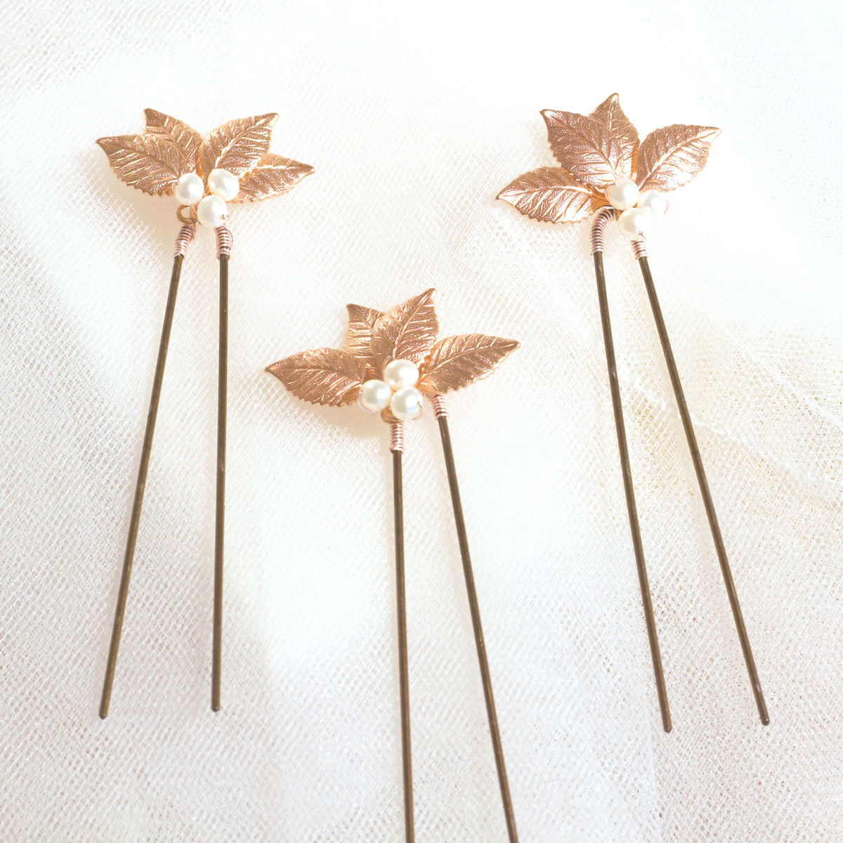 Rosie hair pins x 3  - product images  of