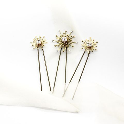 Cosmo,Pins,cosmo hair pins, gold hair pins, star pins