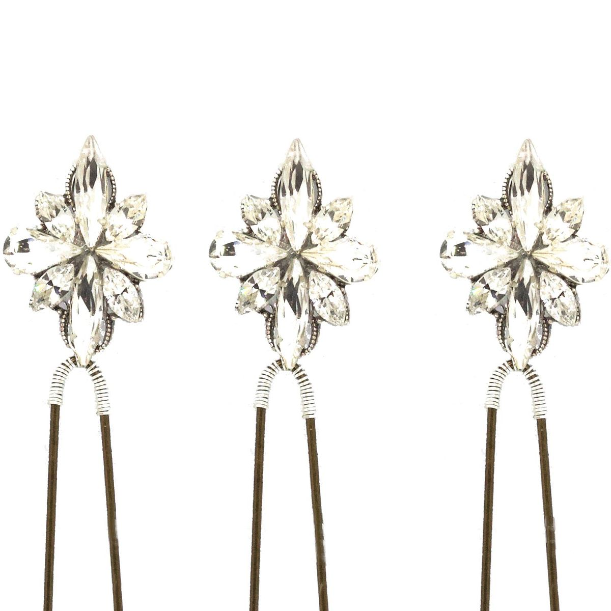 Swarovski Crystal Hair Pins - product images  of