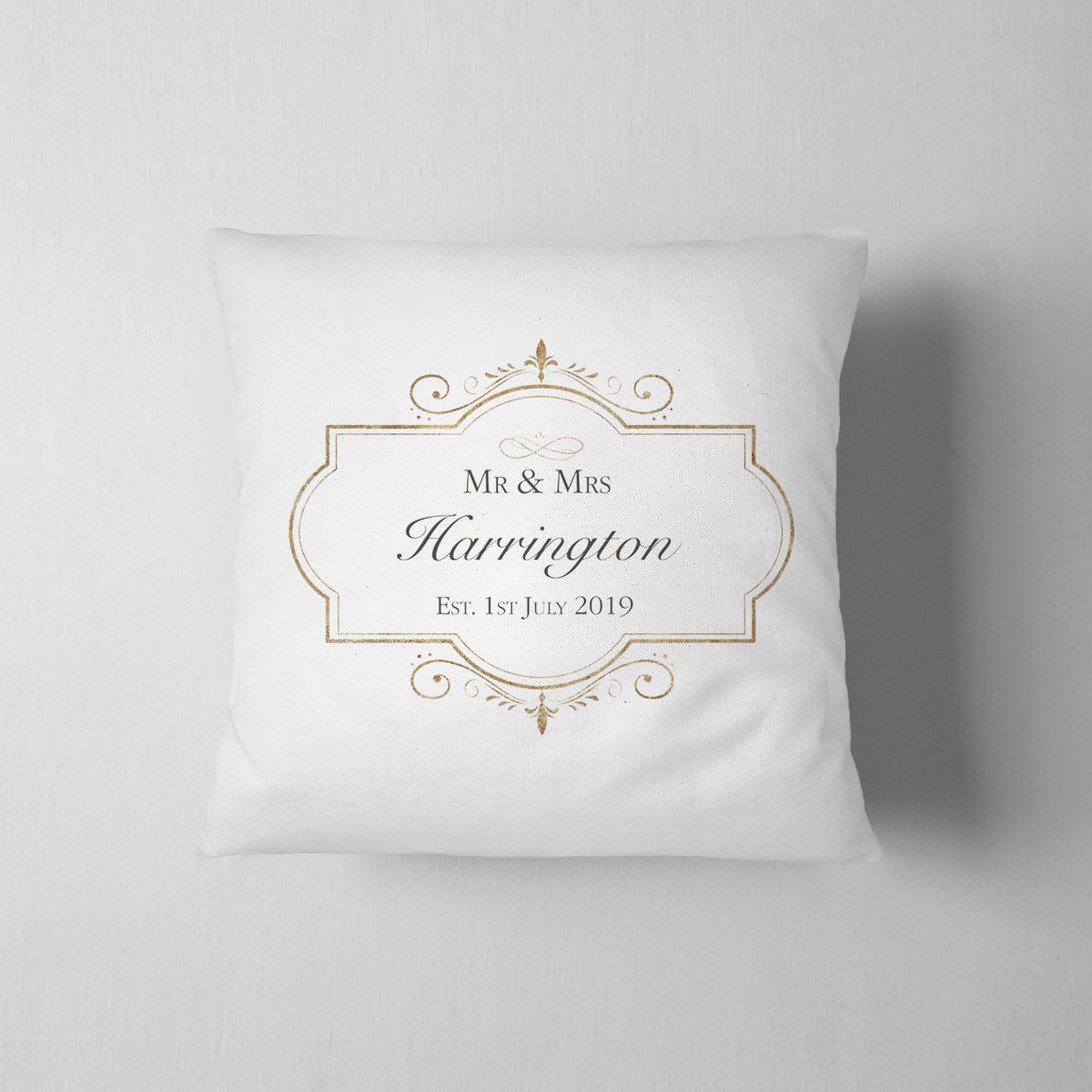 Personalised Wedding Cushion - product images  of