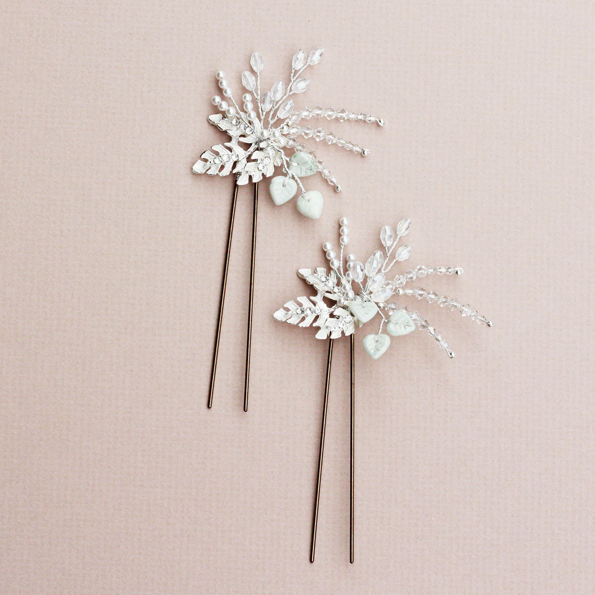 Olive hair pin - product images  of