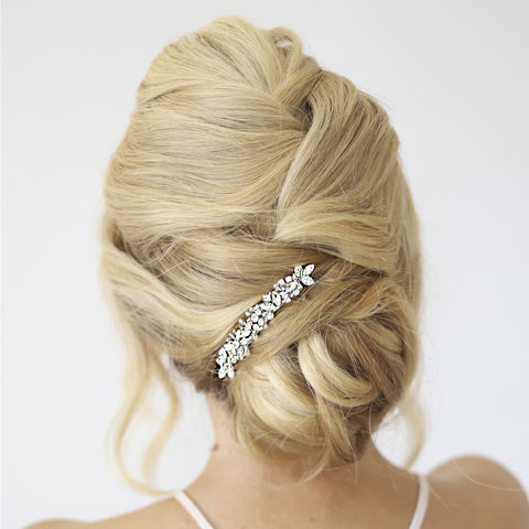 Silver,Crystal,Hair,Slide,silver crystal hair slides, bridal hair slides, bridal clips, bridesmaid clips