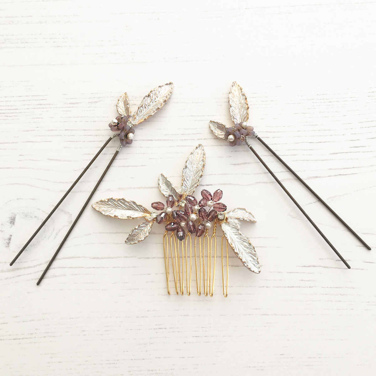 Fianna Comb and Pin set - product images  of