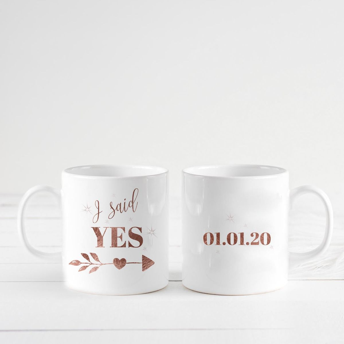 I said Yes personalised mug - product images  of