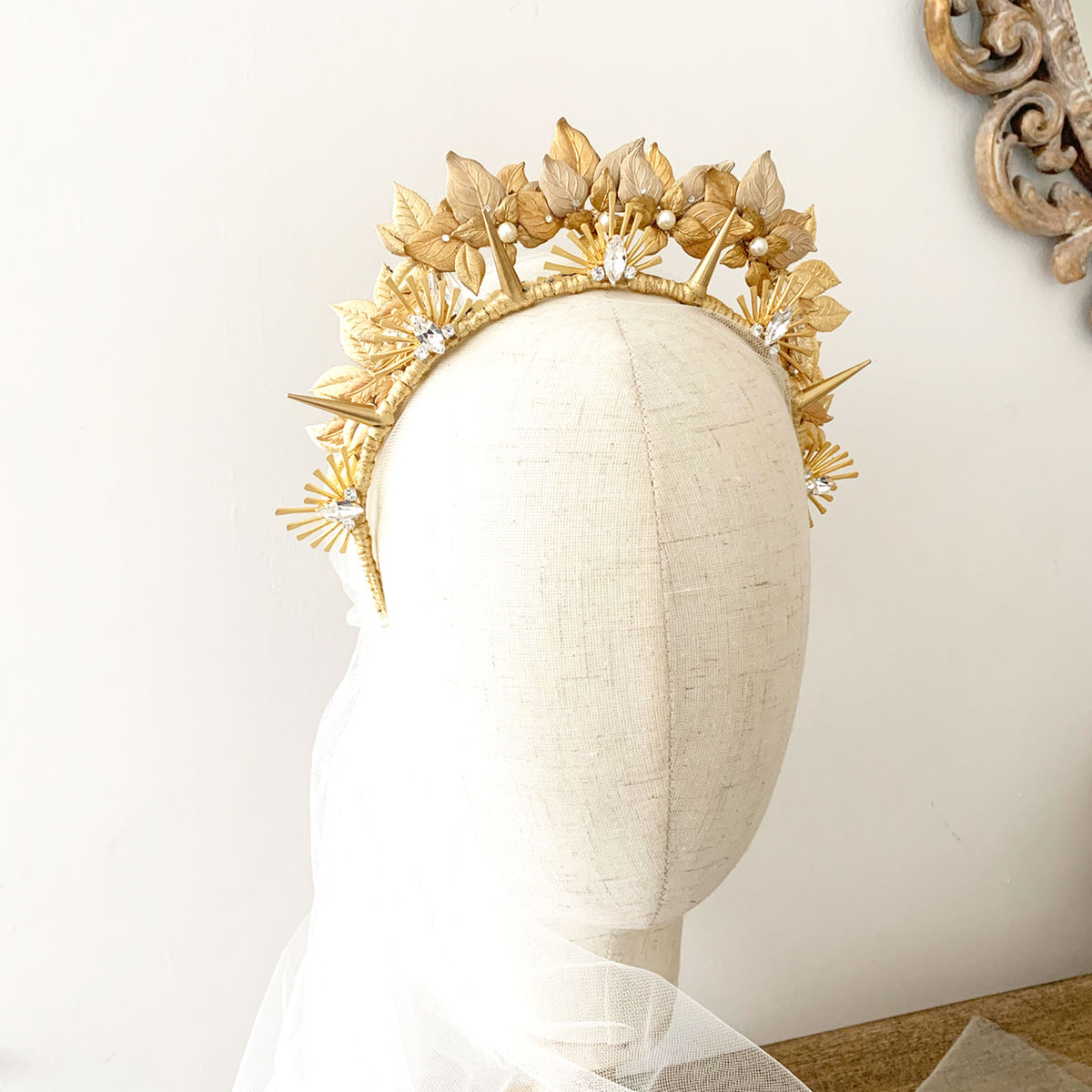 Apollo - Golden Halo Headdress - product images  of