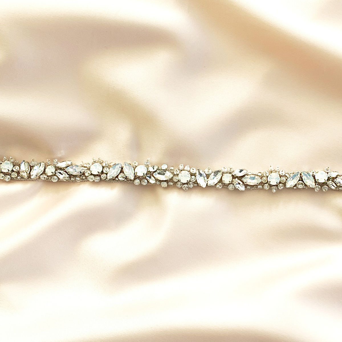 Georgina Crystal & Opal Fitted Belt - product images  of
