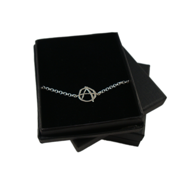 ANARCHY SILVER CHAIN BRACELET - product images  of