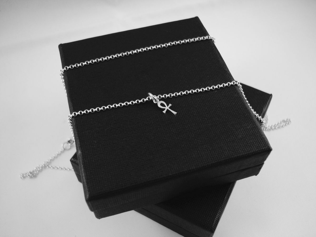 ANKH SILVER CHARM NECKLACE - product images  of