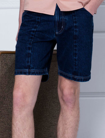 [SPECIAL,OFFER,--,PRE-ORDER],Pleated,Jean,Shorts
