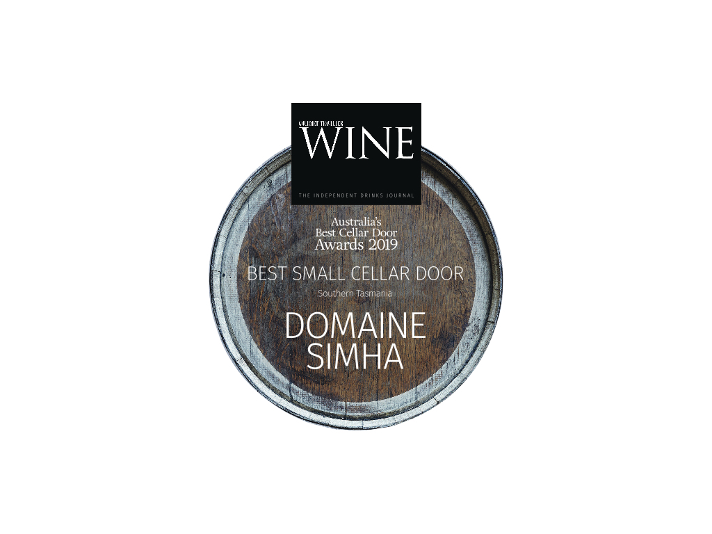 Domaine Simha wine tasting tours cellar door Tasmania