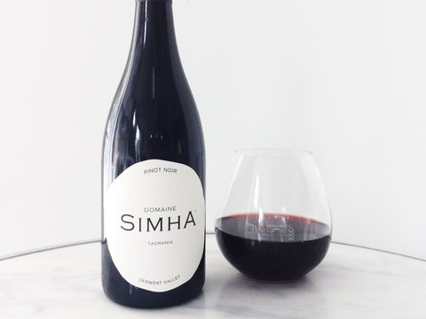 Simha,Nature,Pinot,Noir,Tasmanian whisky Domaine Simha wine nature pinot noir shop buy order gin wine tastings experience tours winery distillery tasmania hobart cellar door bar restaurant badge