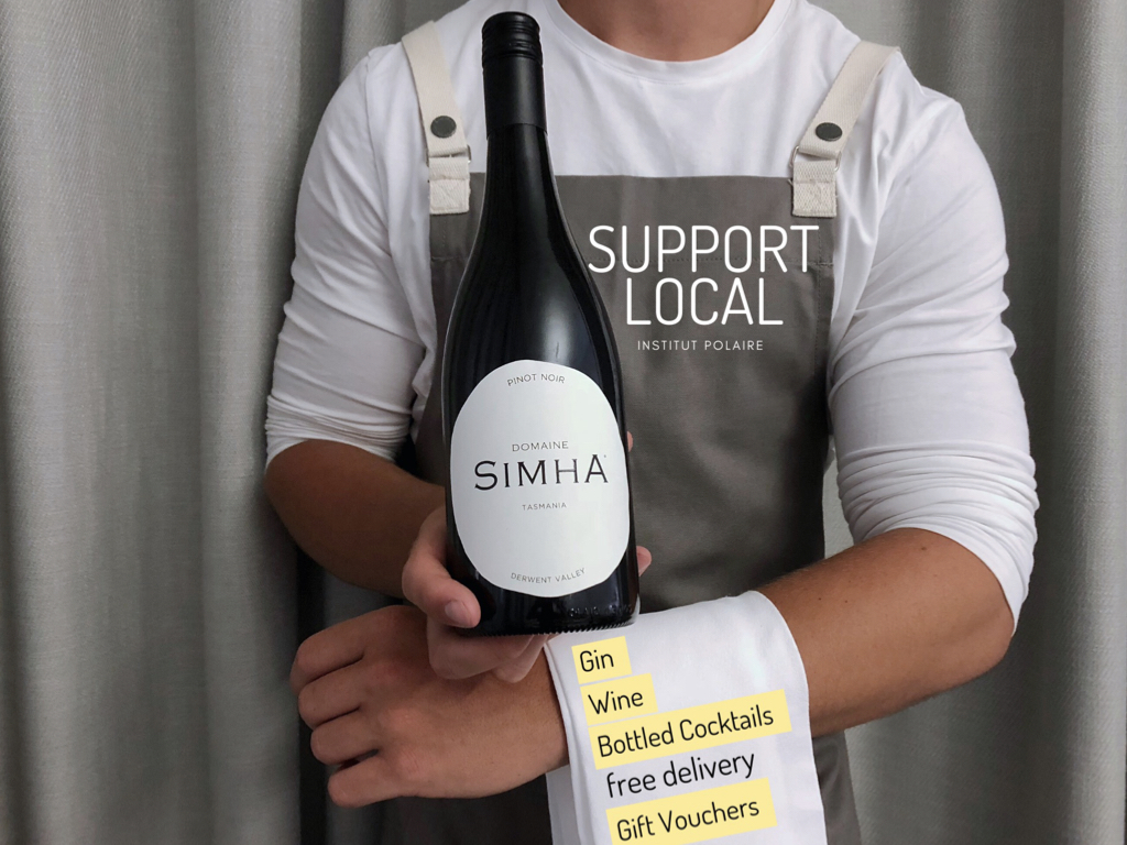 Support local hobart tasmania delivery takeaway wine gin