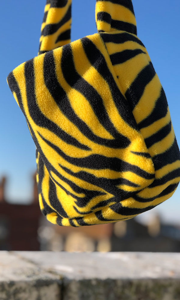 Zebra Fleece Grab Bag - product images  of
