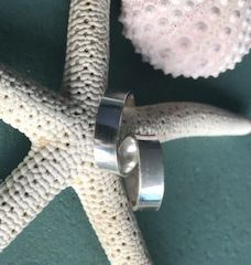 Ribbon,Ring,ring, sterling silver, suzanne barr jewellery, handmade ring, gift,