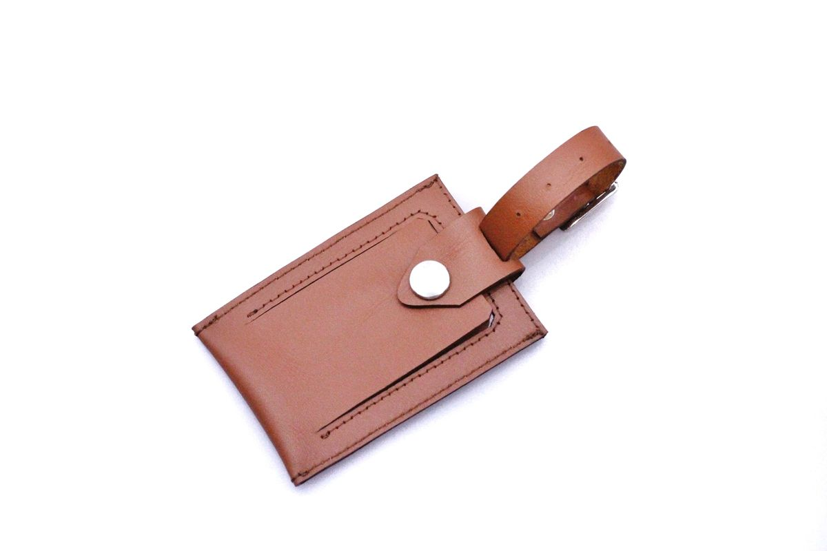 Tan Luggage Tag - product images  of
