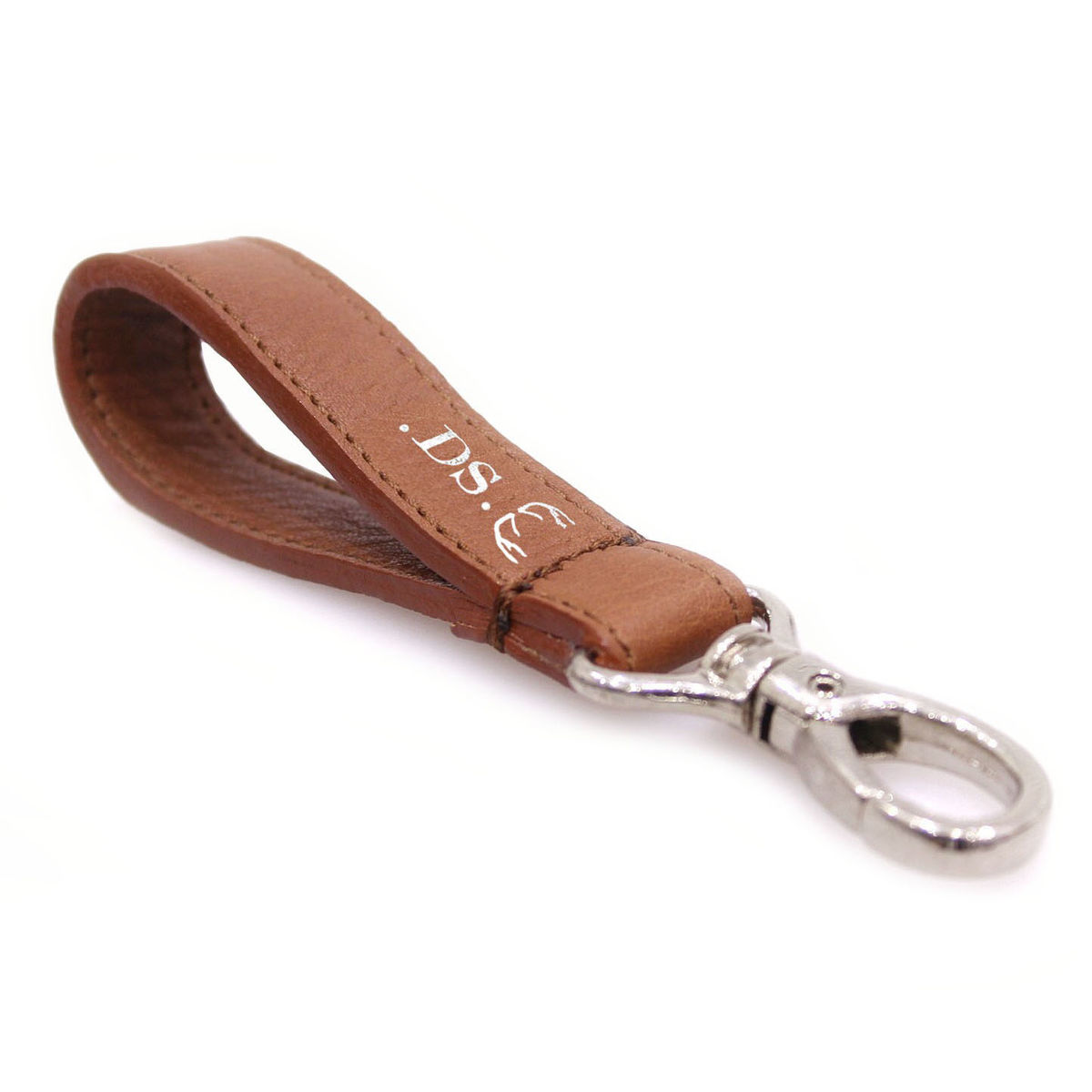 Brown Personalised Keyring - product images  of