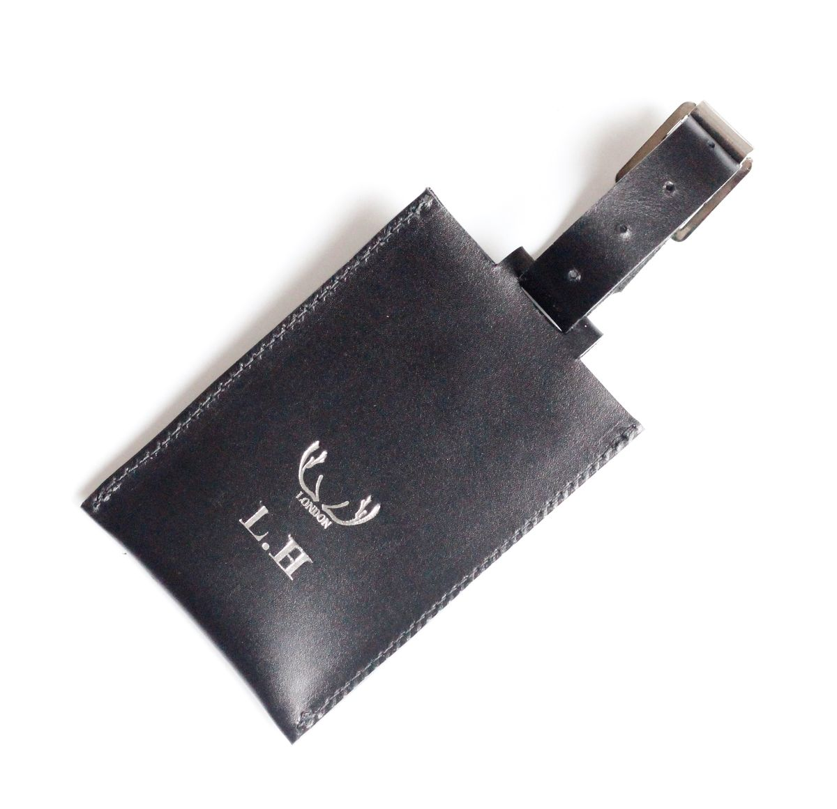 Black Luggage Tag - product images  of