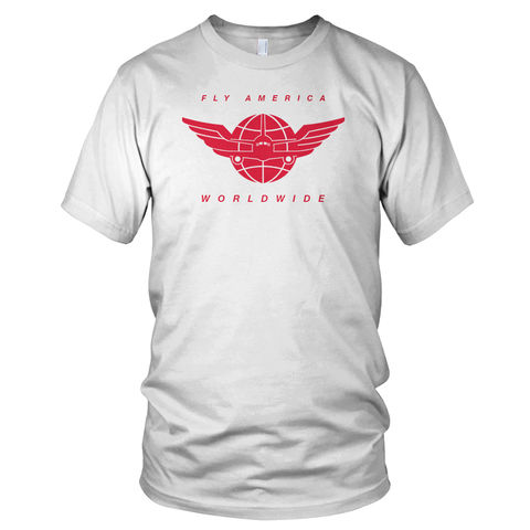 Fly,America,Worldwide,T-Shirt