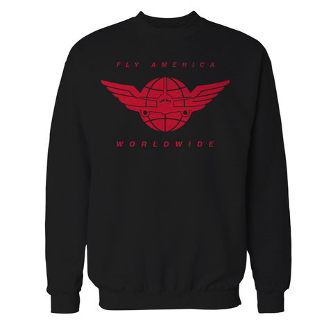 Fly,America,Worldwide,Crewneck