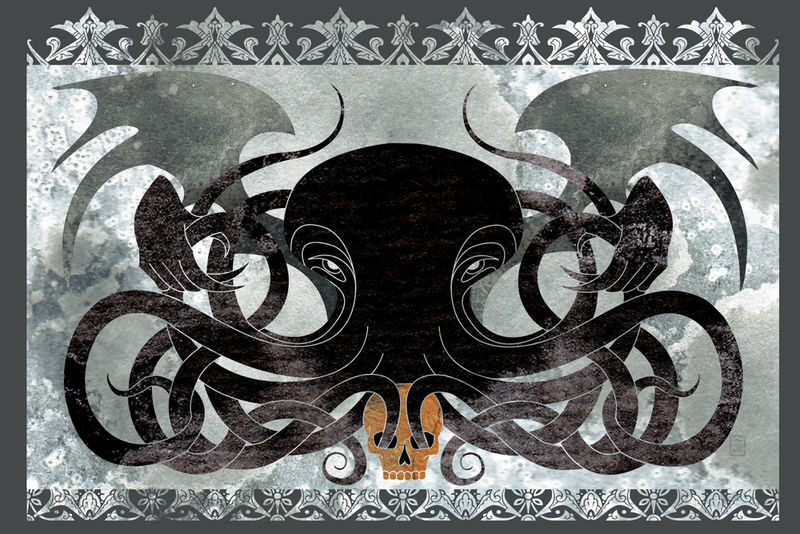 Dark Matter - Cthulhu fantasy illustration - product images