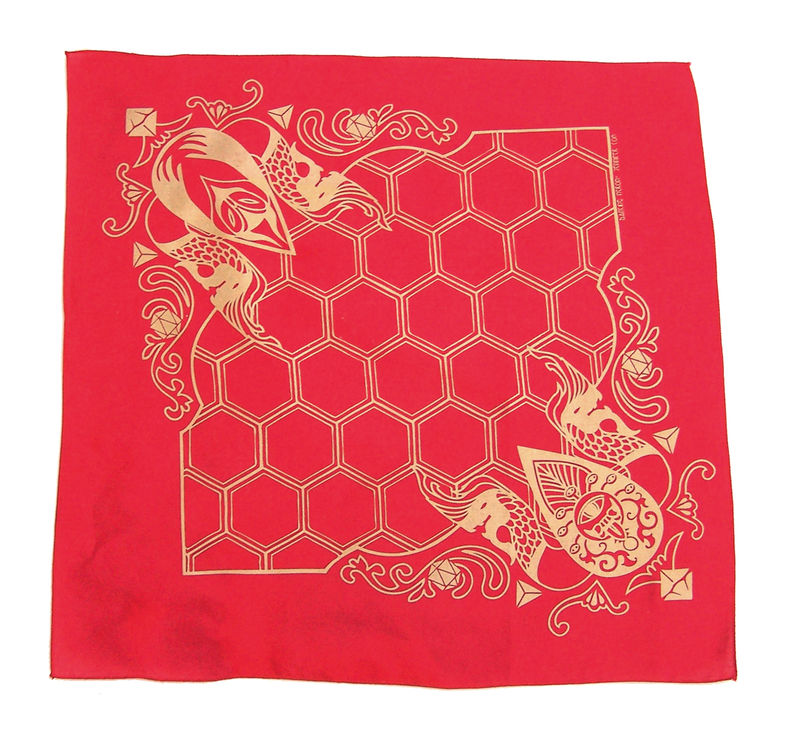 Behold - Dual use DND game bandana or Furoshiki - product images  of