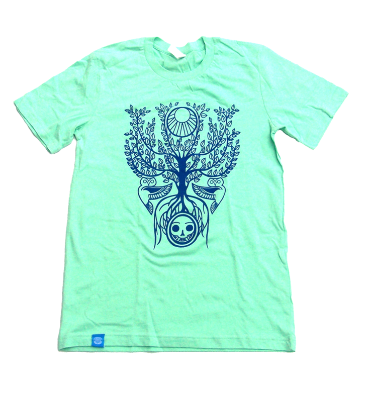 Seerer Tree - Fantasy Occult Inspired Hand Screened Shirt - product images  of