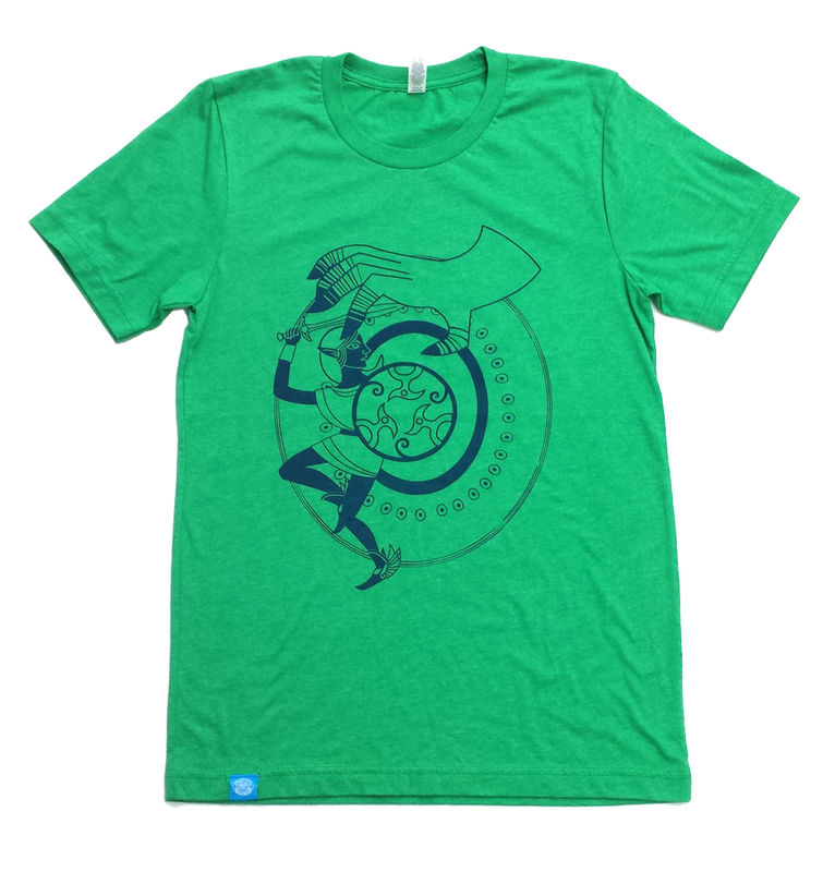 The Hand that Feeds - Legend of Zelda Inspired Hand screened shirt - product images  of