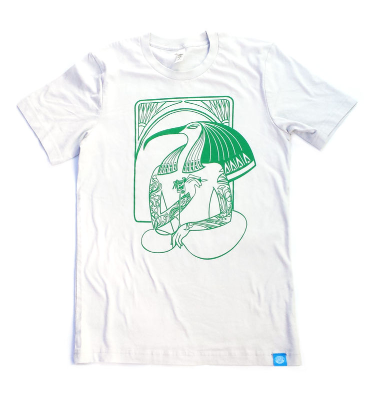 Tattoo Artist Thoth - Hip Egyptian Series Hand Screened Shirt - product images  of