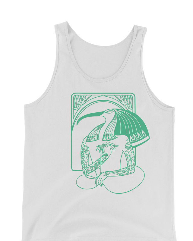 Tattoo Artist Thoth - Hip Egyptian Series Hand Screened Tank Top - product images