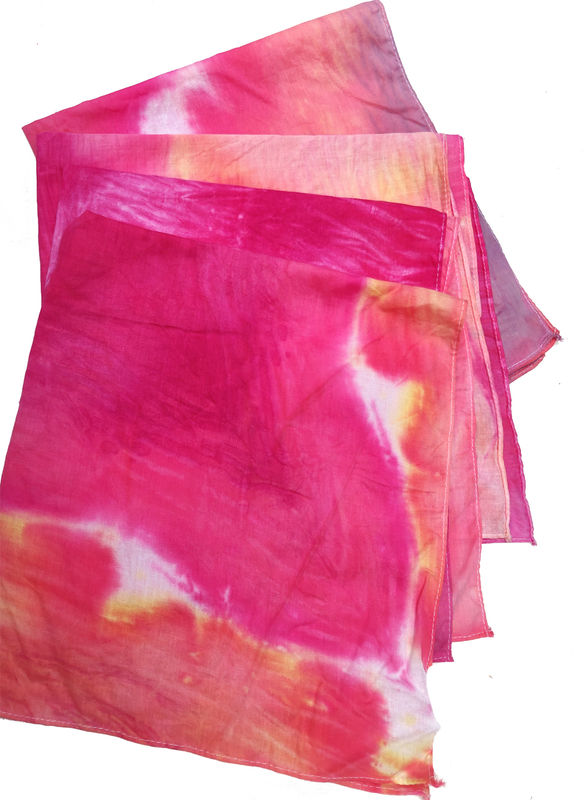 PRIDE hand dyed bandana - product images  of