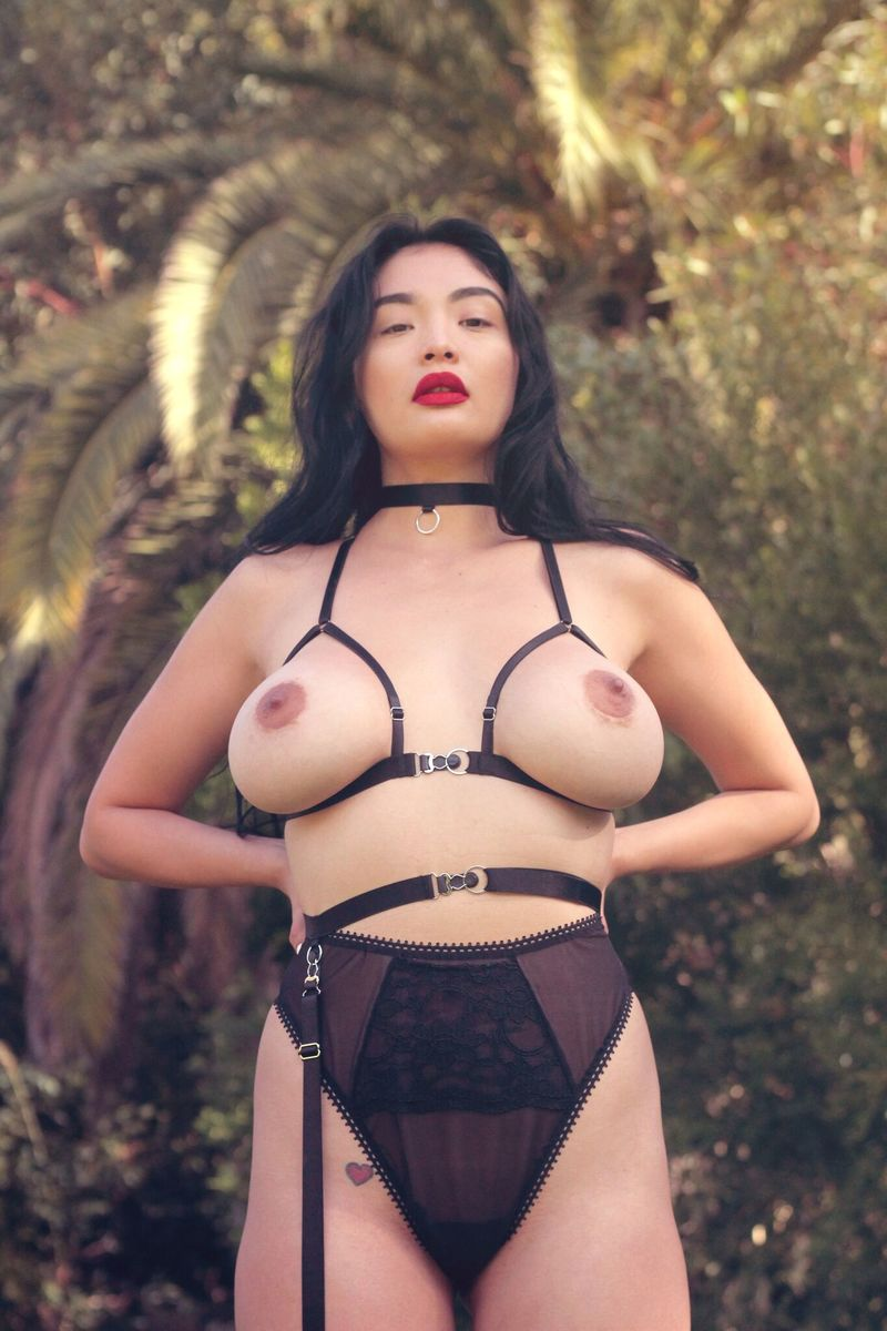 """Circe"" Harness Bra - product images  of"