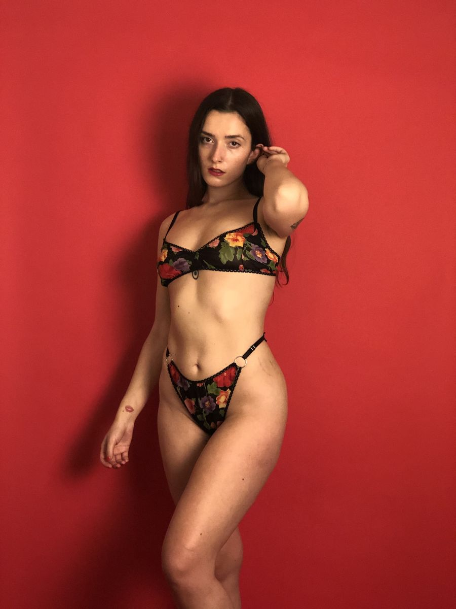 """Rosaline"" Bra (Limited Edition Prints) - product images  of"