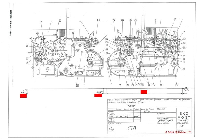 Guide_technical drawing for installation conditions - product image