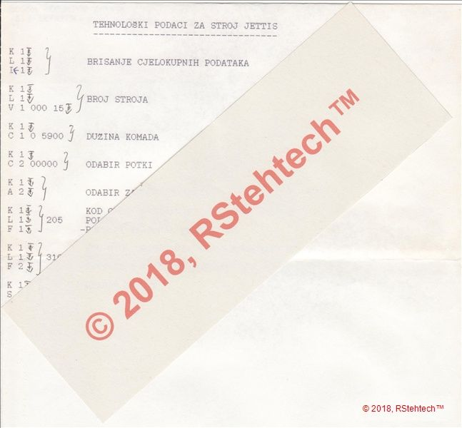 Work plan_control on JETTIS NF - product image