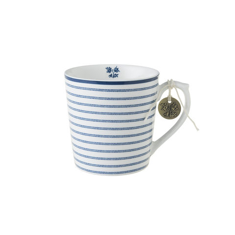 Laura,Ashley,Mug,10,oz,Candy,Stripe,laura-Ashley-Blueprint-Collectables-Tableware-mug-candy-stripe