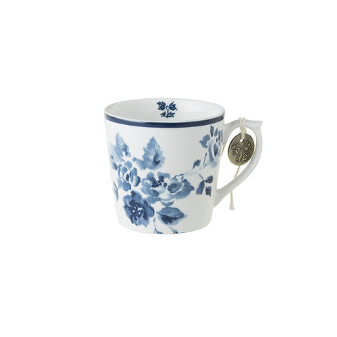 Laura,Ashley,Mug,7.5,oz,China,Rose,Laura-Ashley-Blueprint-Collectables-Mug-7.5oz-China-Rose