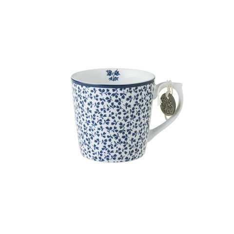 Laura,Ashley,Mug,7.5,oz,Floris,Laura-Ashley-Blueprint-Collectables-Mug-7.5oz-Floris