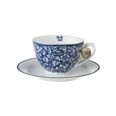 Laura,Ashley,8.8oz,Cup,and,Saucer,Sweet,Allysum,Laura-Ashley-Blueprint-Collectables-Tableware-Cup-Saucer-Sweet-Allysum