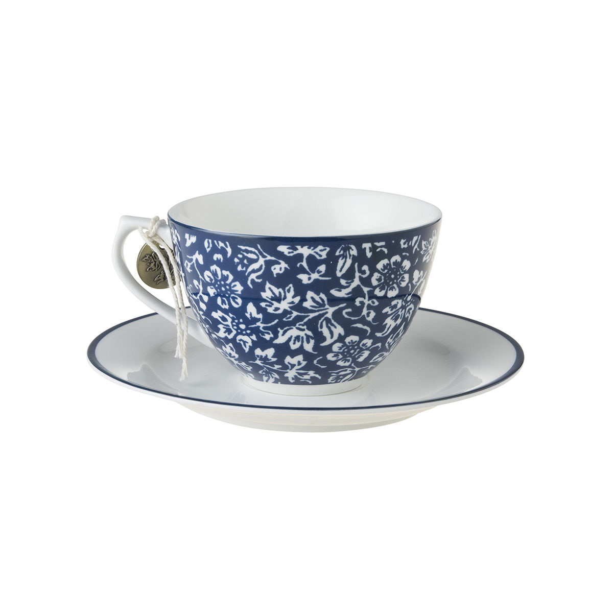 Laura Ashley 8.8oz Cup and  Saucer Sweet Allysum - product images  of