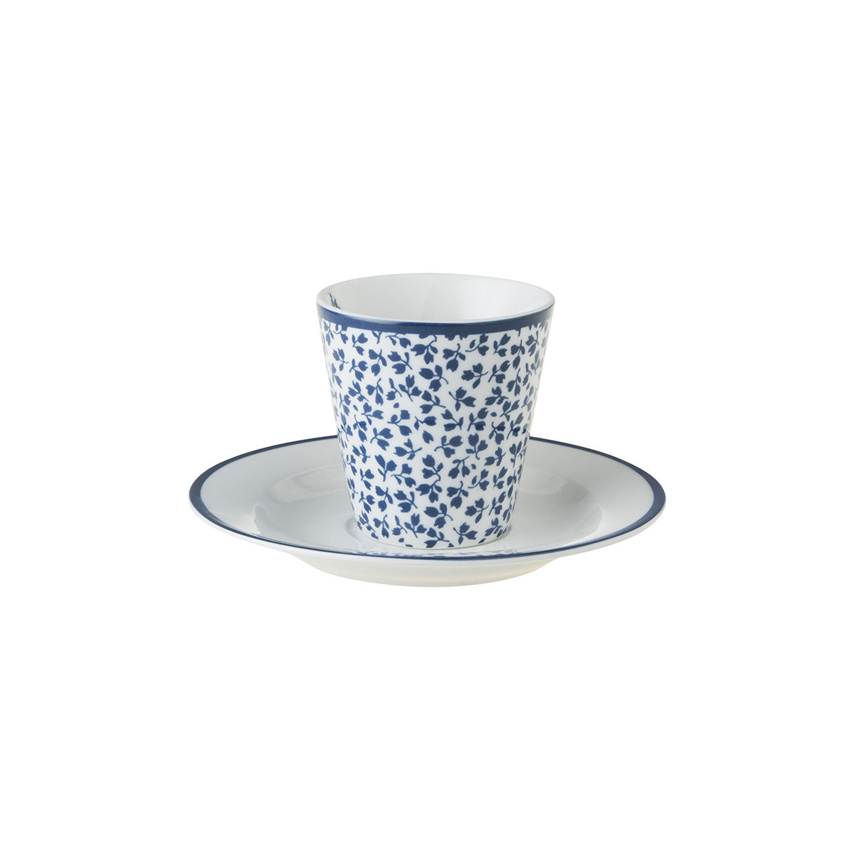 Laura Ashley Espresso Cup and Saucer Floris - product images  of