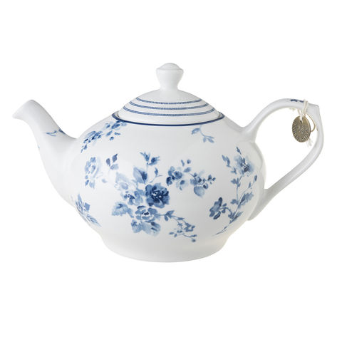 Laura,Ashley,Teapot,China,Rose,Laura-Ashley-Blueprint-Collectables-Tableware-Teapot-China-Rose