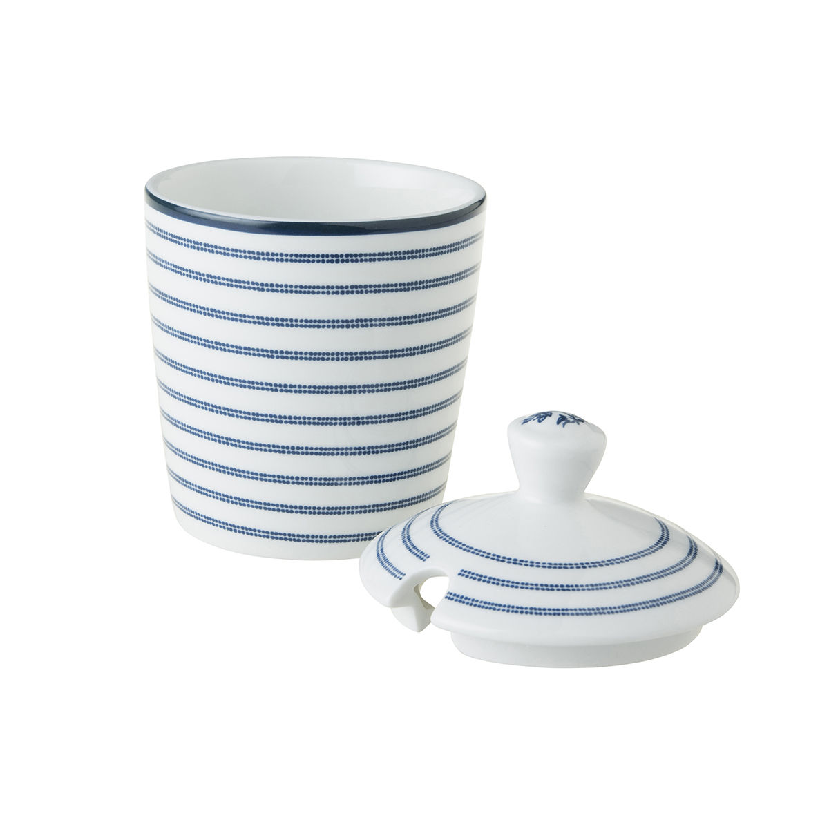 Laura Ashley Sugar Bowl in Candy Stripe - product images  of