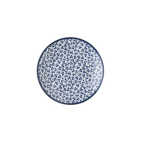 Laura,Ashley,Petit,Four,Plate,Floris,Laura-Ashley-Blueprint-Collectables-Tableware-Petit-Four-Plate-Floris