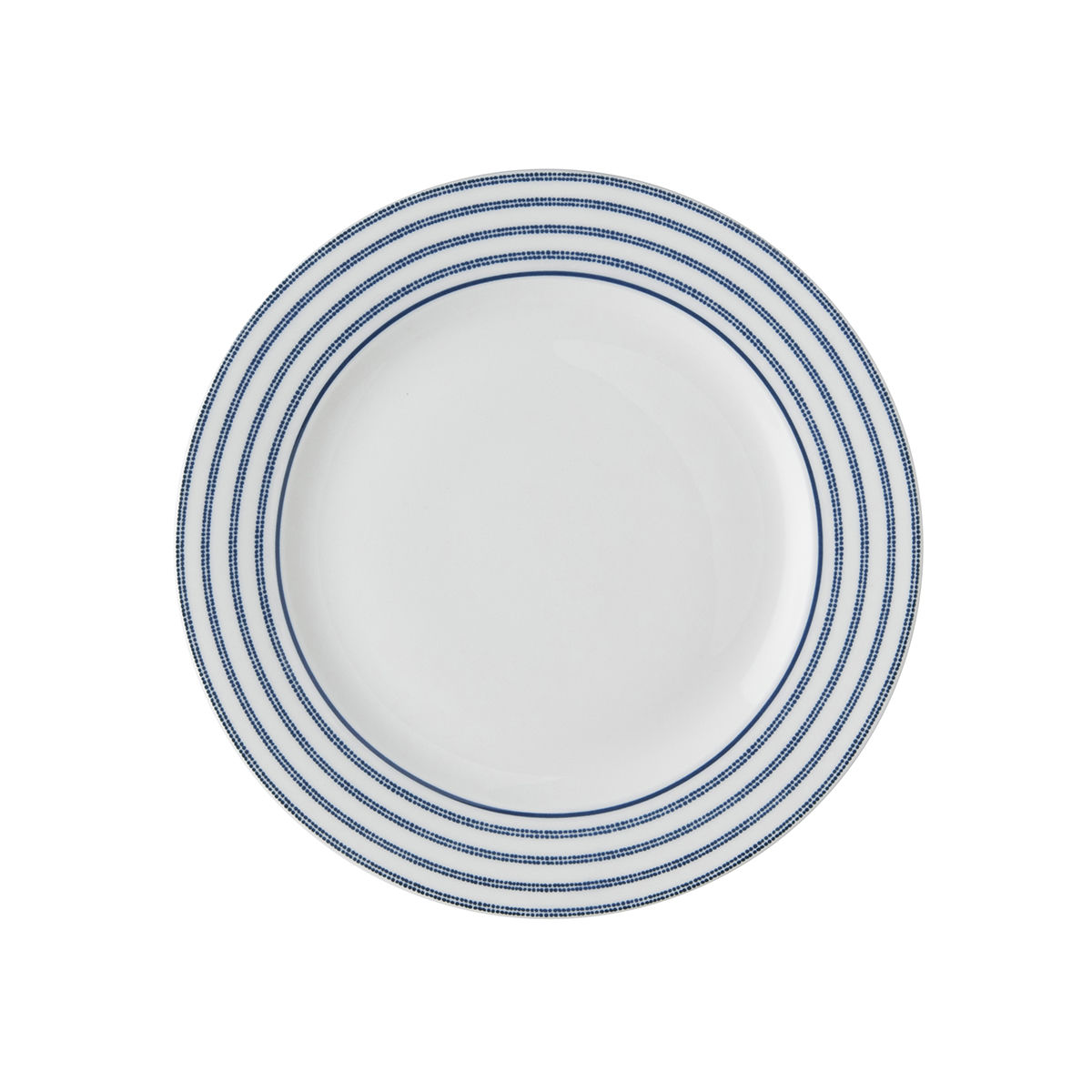 "Laura Ashley 6.85"" Plate Candy Stripe - product images  of"