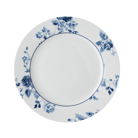 Laura,Ashley,7.75,Plate,China,Rose,Laura-Ashley-Blueprint-Collectables-Tableware-7.75-Plate-China-Rose
