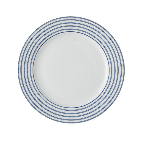 Laura,Ashley,7.75,Plate,Candy,Stripe,Laura-Ashley-Blueprint-Collectables-Tableware-7.75-Plate-Candy-Stripe
