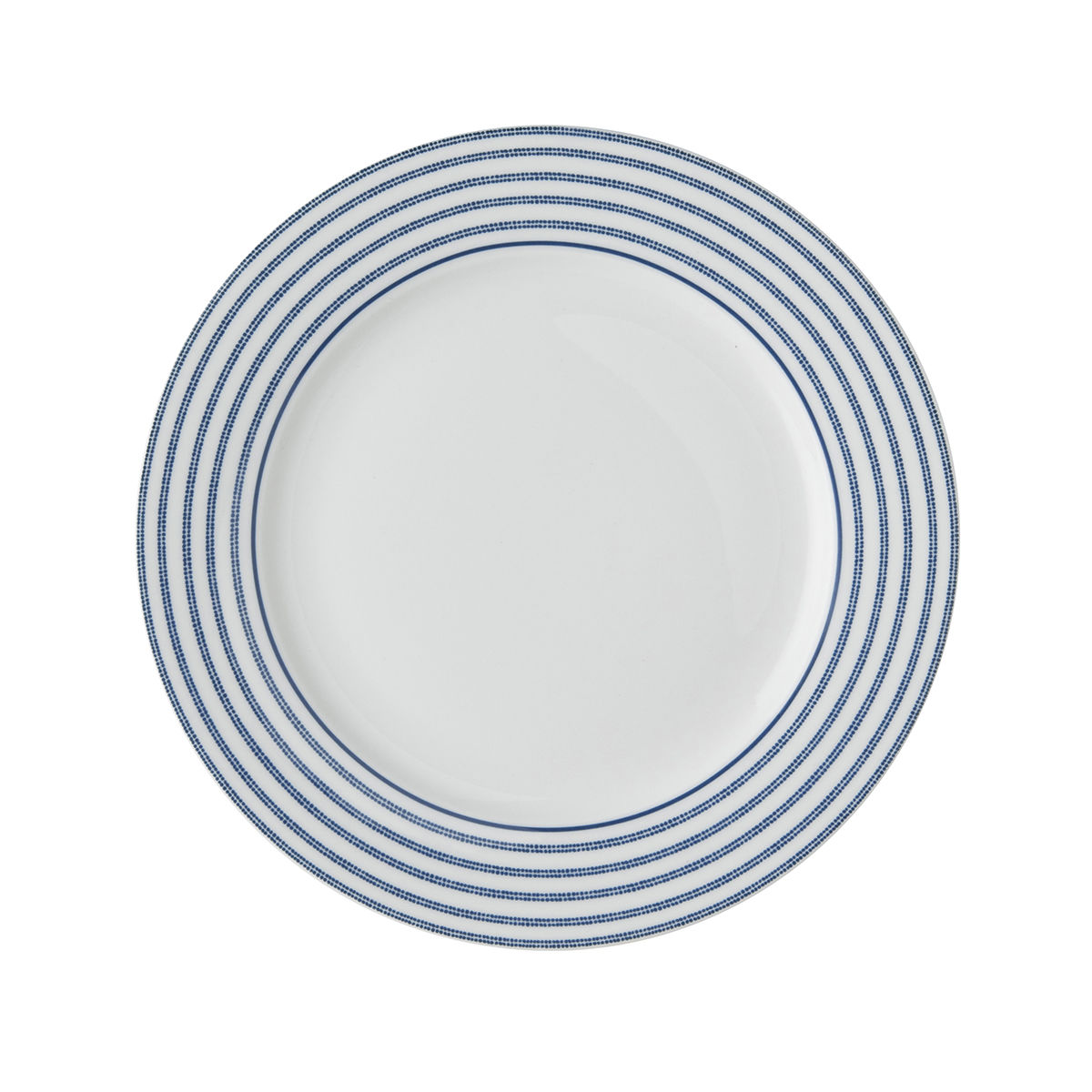 "Laura Ashley 7.75"" Plate Candy Stripe - product images  of"