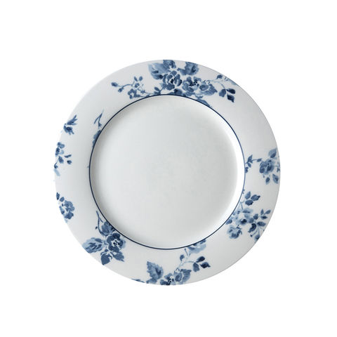 Laura,Ashley,9,Plate,China,Rose,Laura-Ashley-Blueprint-Collectables-Tableware-9-Plate-China-Rose
