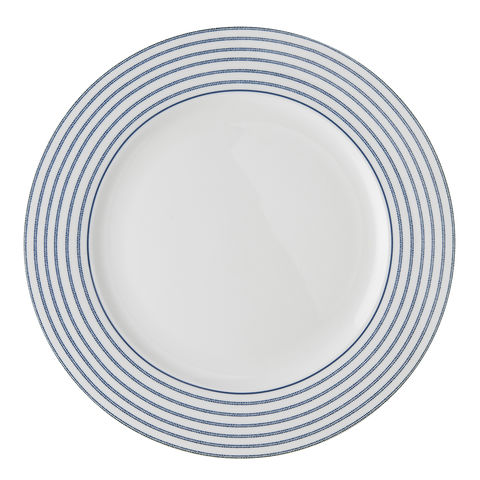 Laura,Ashley,10.5,Plate,Candy,Stripe,laura-Ashley-Blueprint-Collectables-Tableware-10.5-Plate-Candy Stripe