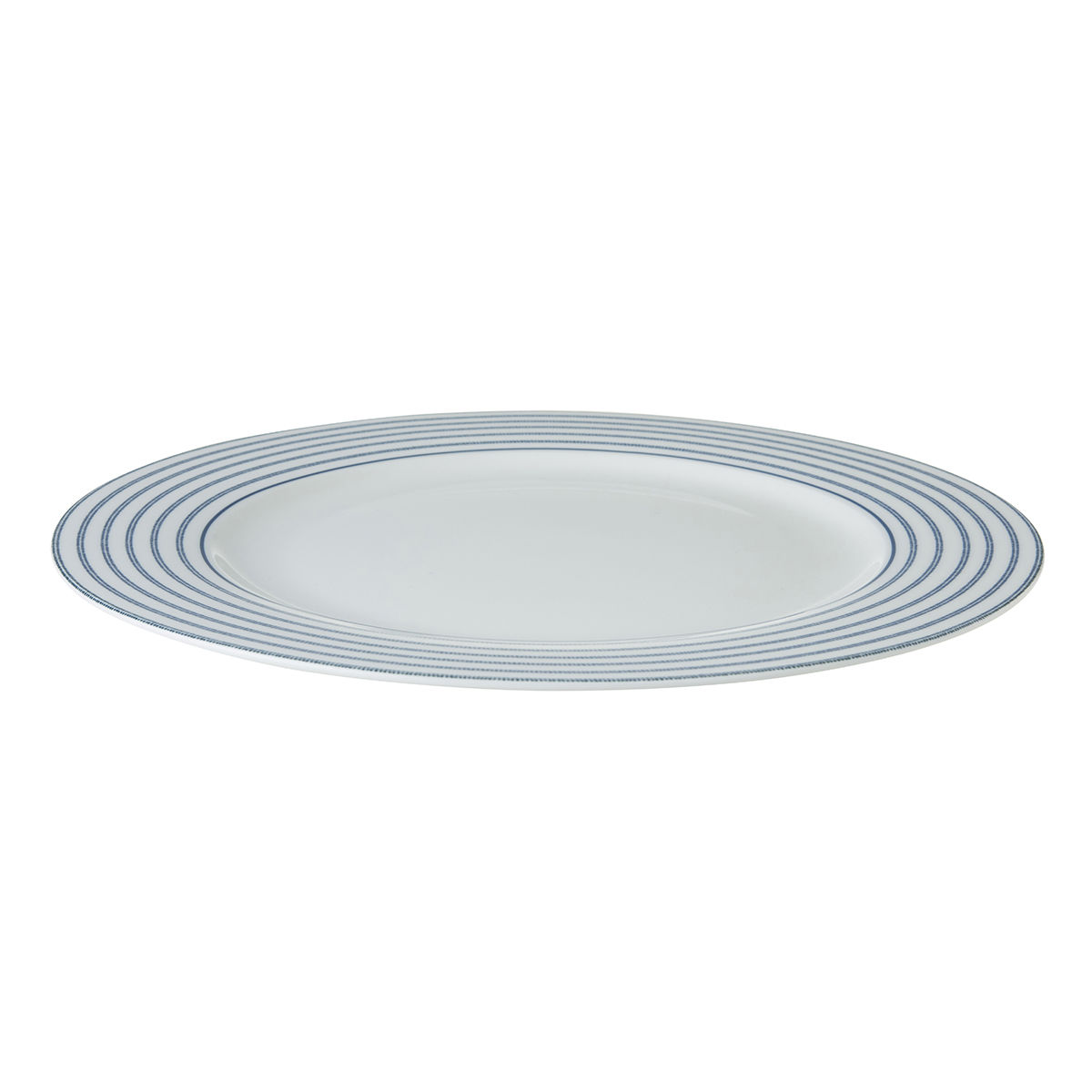 "Laura Ashley 10.5"" Plate Candy Stripe - product images  of"